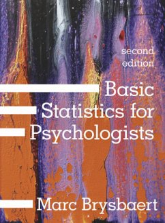 Basic Statistics for Psychologists - Brysbaert, Marc