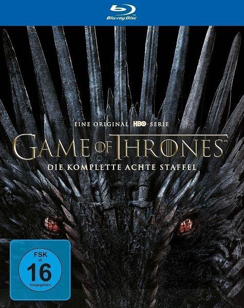 Game of Thrones - Staffel 8 (3 Blu-ray Discs)