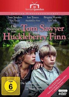 Die Abenteuer von Tom Sawyer und Huckleberry Finn DVD-Box - Tracey,Ian