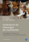 Fachkulturen als Ordnungen der Geschlechter (eBook, PDF)