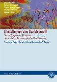 Einstellungen zum Sozialstaat III (eBook, PDF)