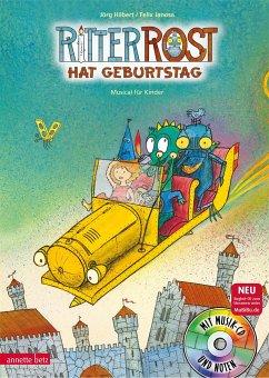 Ritter Rost hat Geburtstag / Ritter Rost Bd.6 mit Audio-CD - Hilbert, Jörg
