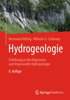 Hydrogeologie - Hölting, Bernward; Coldewey, Wilhelm G.