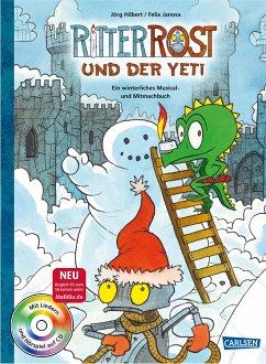 Ritter Rost: Ritter Rost und der Yeti (mit CD) - Hilbert, Jörg