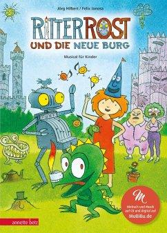 Ritter Rost und die neue Burg / Ritter Rost Bd.17 mit Audio-CD - Hilbert, Jörg; Janosa, Felix