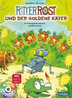 Ritter Rost: Ritter Rost und der goldene Käfer - Hilbert, Jörg; Janosa, Felix