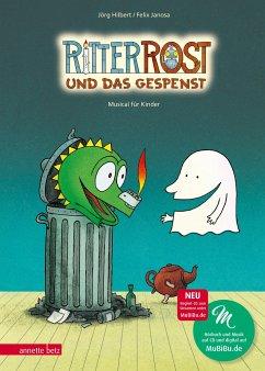 Ritter Rost und das Gespenst / Ritter Rost Bd.2 mit Audio-CD - Hilbert, Jörg