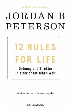 12 Rules For Life (eBook, ePUB) - Peterson, Jordan B.