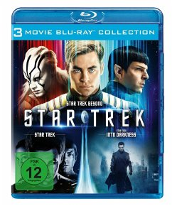 STAR TREK - Three Movie Collection BLU-RAY Box