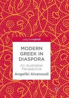 Modern Greek in Diaspora - Alvanoudi, Angeliki