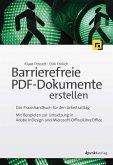Barrierefreie PDF-Dokumente erstellen (eBook, PDF)