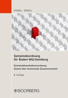 Gemeindeordnung für Baden-Württemberg (eBook, ePUB) - Stingl, Johannes; Zinell, Herbert O.