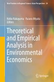 Theoretical and Empirical Analysis in Environmental Economics (eBook, PDF)