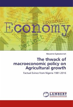 The thwack of macroeconomic policy on Agricultural growth