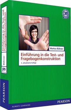Einführung in die Test- und Fragebogenkonstruktion (eBook, PDF) - Bühner, Markus
