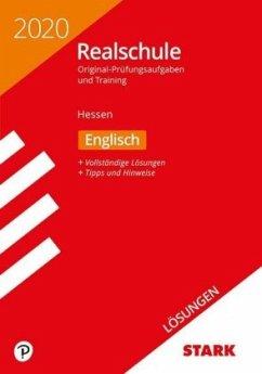 Lösungen zu Original-Prüfungen und Training Realschule 2020 - Englisch - Hessen