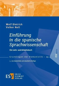 Einführung in die spanische Sprachwissenschaft - Dietrich, Wolf; Noll, Volker