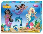 Hama 3150 - Bügelperlen, Geschenkpackung Meerjungfrauen, 4000 Midi-Perlen und Zubehör