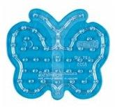 Hama 8225 - Stiftplatte, kleiner Schmetterling, Stiftplatte für 54 Maxi-Bügelperlen