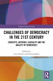 Challenges of Democracy in the 21st Century (eBook, ePUB)