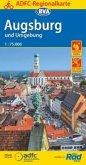 ADFC-Regionalkarte Augsburg und Umgebung