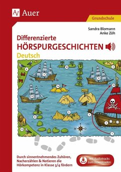 Differenzierte Hörspurgeschichten Deutsch - Blomann, Sandra; Zöh, Anke