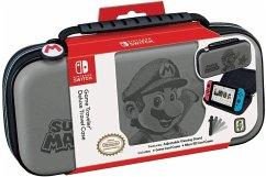 Nintendo GAME TRAVELER, DELUXE TRAVEL CASE NNS46G, Super Mario, für Nintendo Switch, Tasche, NSW, grau