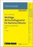 Wichtige Wirtschaftsgesetze für Bachelor / Master 2019/2020
