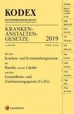 KODEX Krankenanstaltengesetze 2019 (f. Österreich)