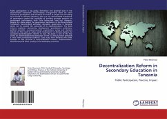 Decentralization Reform in Secondary Education in Tanzania