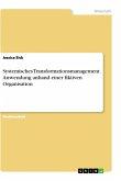 Systemisches Transformationsmanagement. Anwendung anhand einer fiktiven Organisation