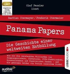 Panama Papers, 2 MP3-CDs (Mängelexemplar) - Obermayer, Bastian; Obermaier, Frederik