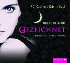 Gezeichnet / House of Night Bd.1 (4 Audio-CDs) (Mängelexemplar) - Cast, P. C.; Cast, Kristin