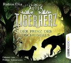 Der Prinz des Dschungels / Tigerherz Bd.1 (4 Audio-CDs) (Mängelexemplar)
