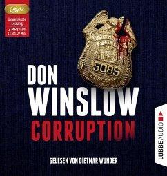 Corruption, 3 MP3-CD (Mängelexemplar) - Winslow, Don