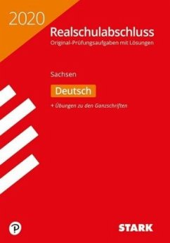 Original-Prüfungen Realschulabschluss 2020 - Deutsch - Sachsen