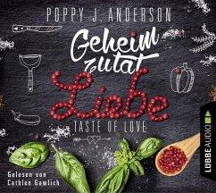 Geheimzutat Liebe / Taste of Love Bd.1 (4 Audio-CDs) (Mängelexemplar) - Anderson, Poppy J.
