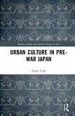 Urban Culture in Pre-War Japan