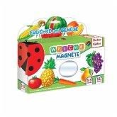 Magnetspiel Früchte & Gemüse