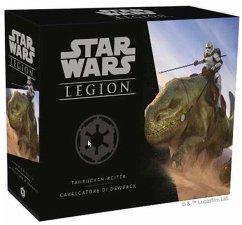 Asmodee FFGD4636 - Star Wars: Legion Cavalcatori Dewback, Strategie, Taktik, Würfelspiel, Erweiterung