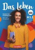 Das Leben A1: Teilband 1 - Kurs- und Übungsbuch