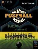 Marlon, die Nummer 10, 2 Cassetten / Die wilden Fußballkerle, Cassetten Tl.10 (Mängelexemplar)