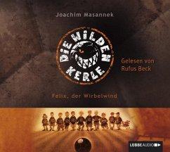 Felix, der Wirbelwind / Die Wilden Fußballkerle Bd.2 (2 Audio-CDs) (Mängelexemplar) - Masannek, Joachim