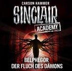 Belphegor - Der Fluch des Dämons / Sinclair Academy Bd.1 (2 Audio-CDs) (Mängelexemplar)