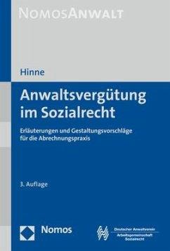 Anwaltsvergütung im Sozialrecht - Hinne, Dirk