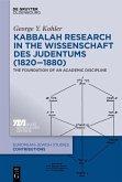 Kabbalah Research in the Wissenschaft des Judentums (1820-1880) (eBook, PDF)