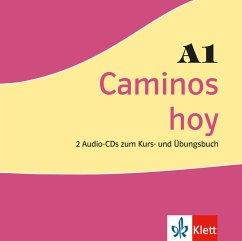 Caminos hoy A1, 2 Audio-CDs zum Kurs- und Übungsbuch / Caminos hoy