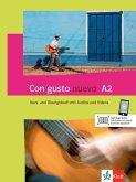 Con gusto nuevo A2. Kurs- und Übungsbuch + MP3-CD + DVD