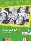 Klasse! A2.1. Kursbuch mit Audios und Videos online