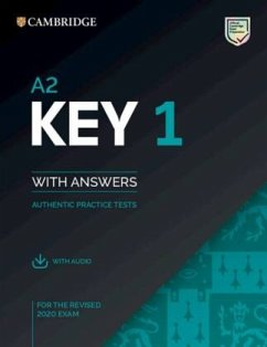 Cambridge English Key 1 for revised exam from 2020. Student's Book with Answers with Audio CD